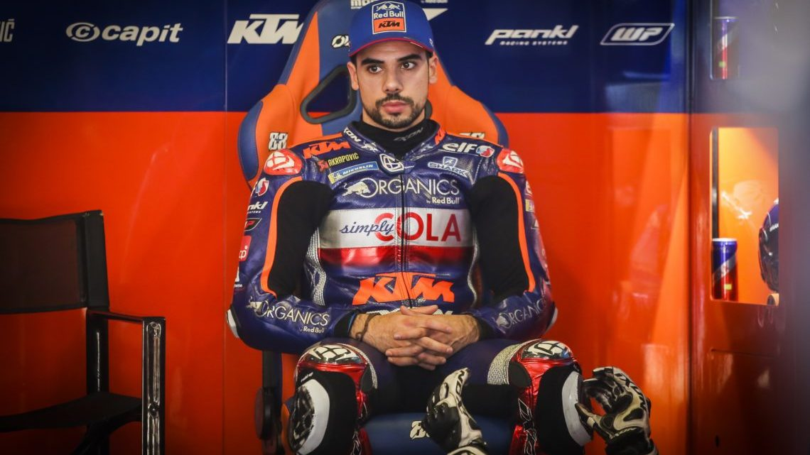 Miguel Oliveira conquista primeira pole position em MotoGP