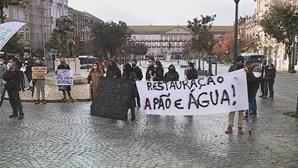 Empresários da restauração manifestaram-se no Porto contra restrições