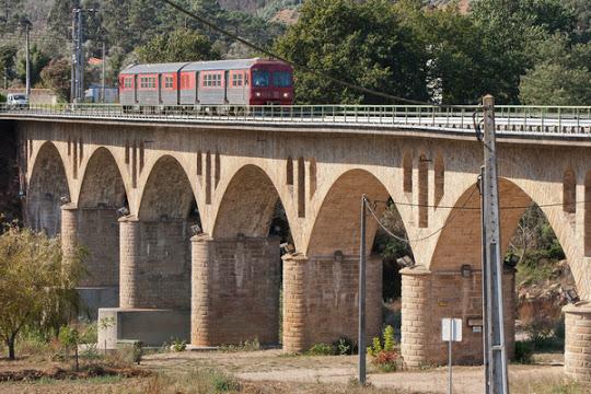 Linha férrea do Vouga interrompida entre Feira e São João da Madeira