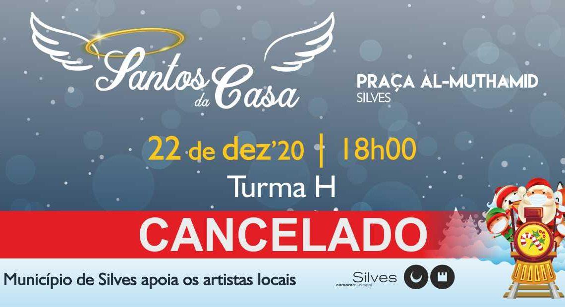 """Santos da Casa: CONCERTO COM BANDA """"TURMA H"""" FOI CANCELADO"""