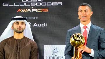 Cristiano Ronaldo eleito jogador do século nos Globe Soccer Awards
