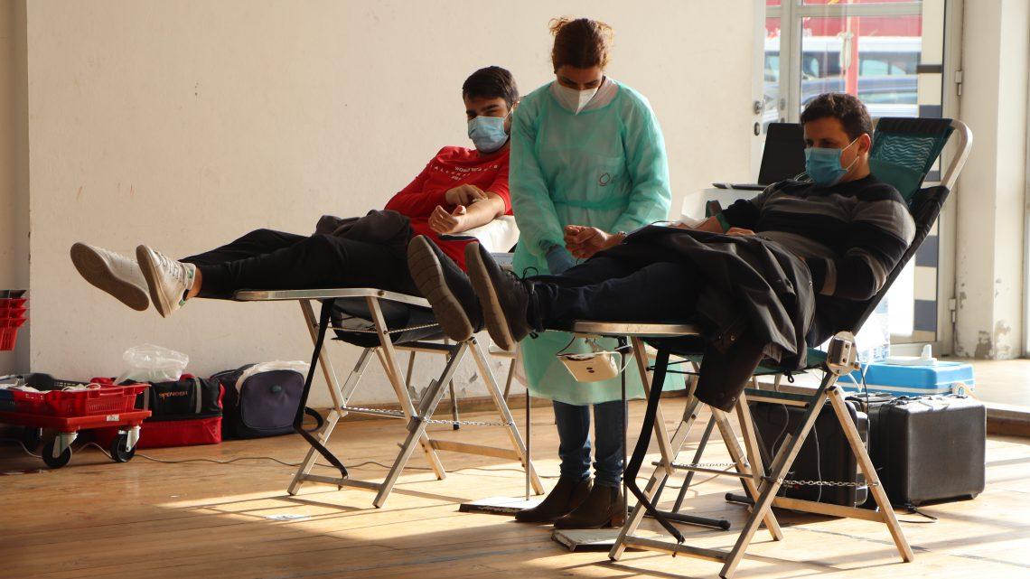 A ADASCA regressou ao local onde nasceu: Salão dos Bombeiros Velhos de Aveiro com uma sessão especial de colheitas de sangue
