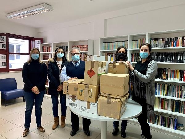 Cantanhede ofereceu 500 livros à Cáritas Diocesana