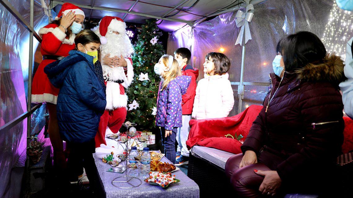 Na sexta-feira, 11 de dezembro: Quadra natalícia assinalada em Cantanhede com a chegada do Pai Natal