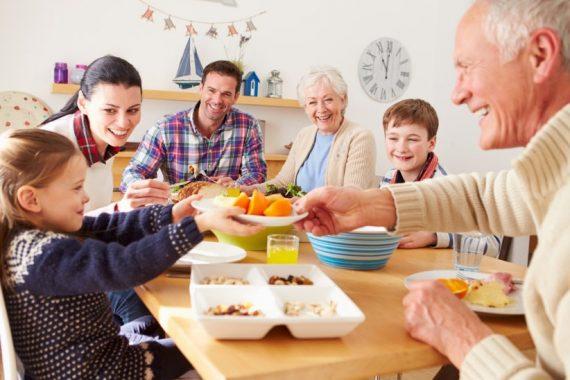 Na mesa se decide o fracasso ou triunfo familiar e social