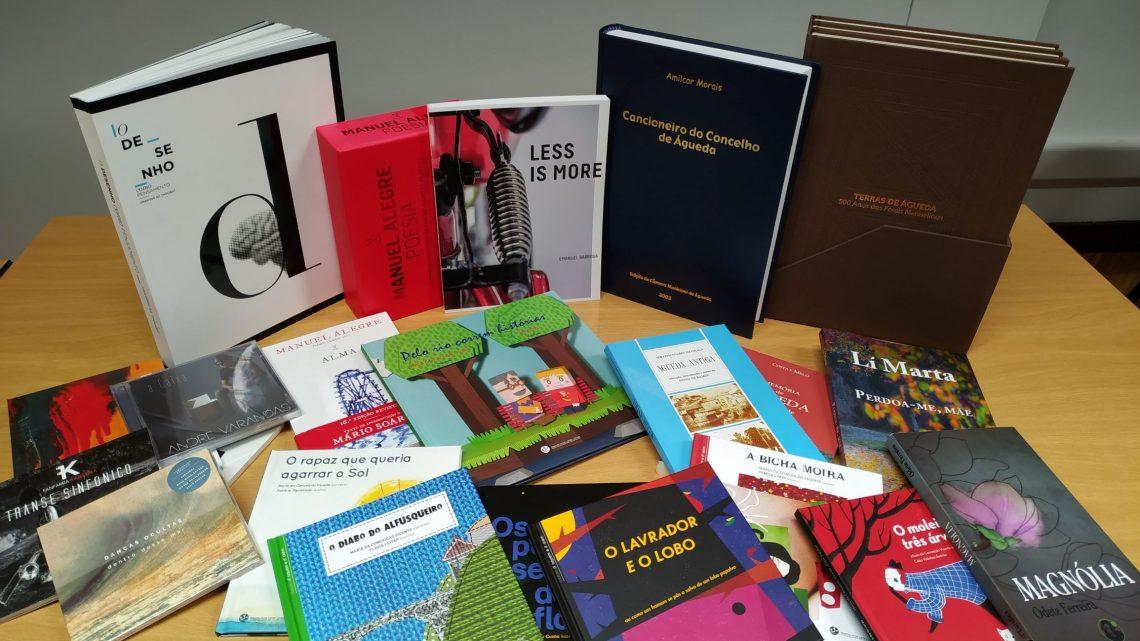 Câmara de Águeda disponibiliza literatura de autores locais para aquisição