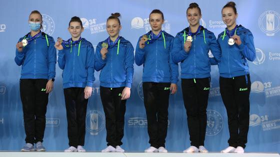 Ucrânia ganha ouro pela primeira vez por equipe no euro
