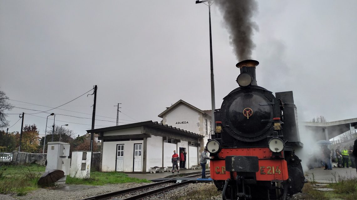 Águeda   Comboio histórico do Vouga é referência internacional
