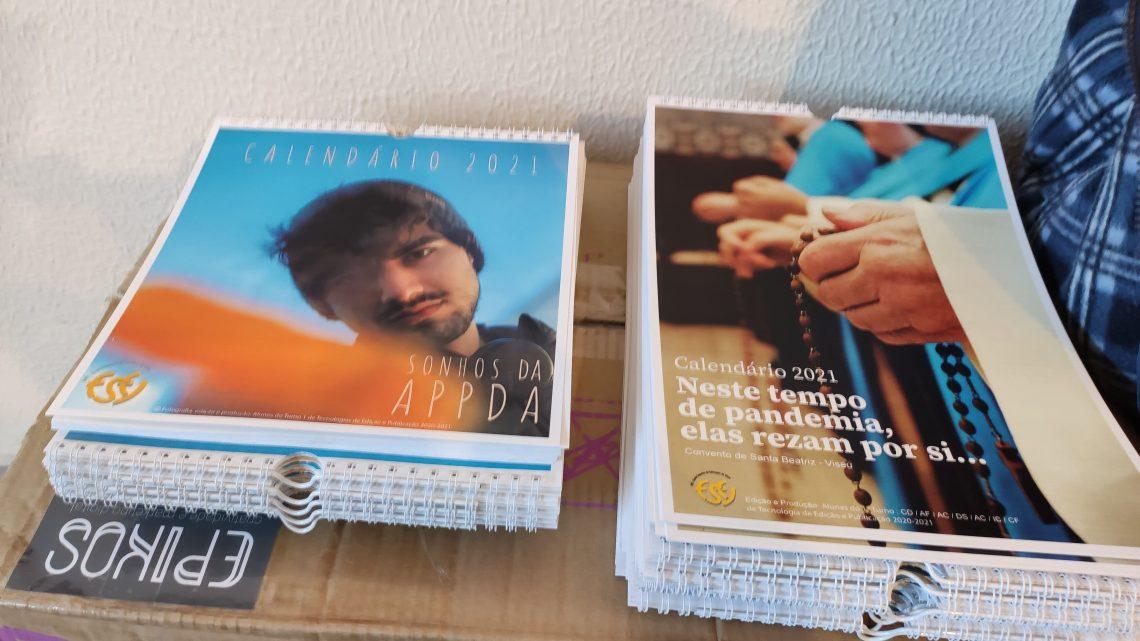 Viseu | Alunos da ESEV lançam dois calendários solidários