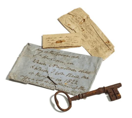 Chave do quarto da prisão onde Napoleão morreu vai a leilão no Reino Unido