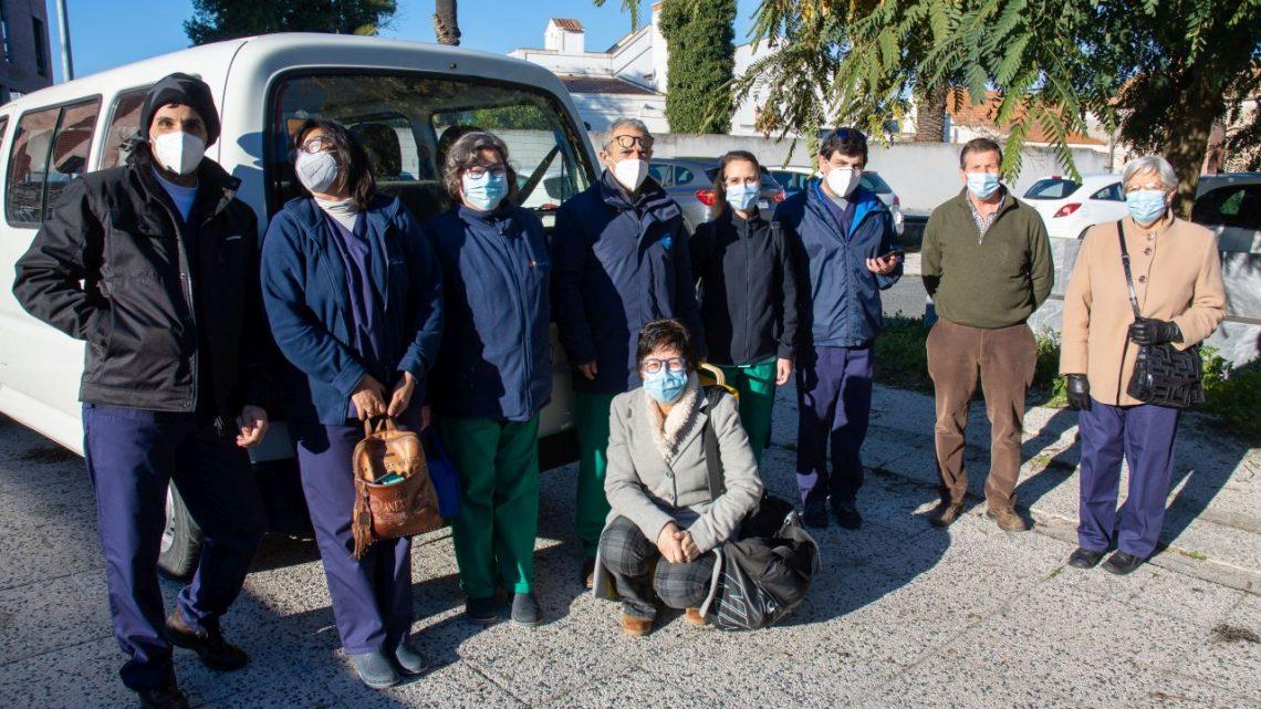 Arrancou hoje vacinação dos lares em Évora