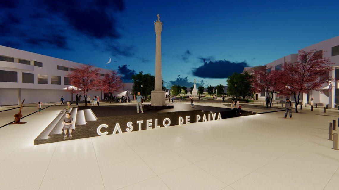 Castelo de Paiva | Secretário de Estado Carlos Miguel vem sinalizar inicio da empreitada