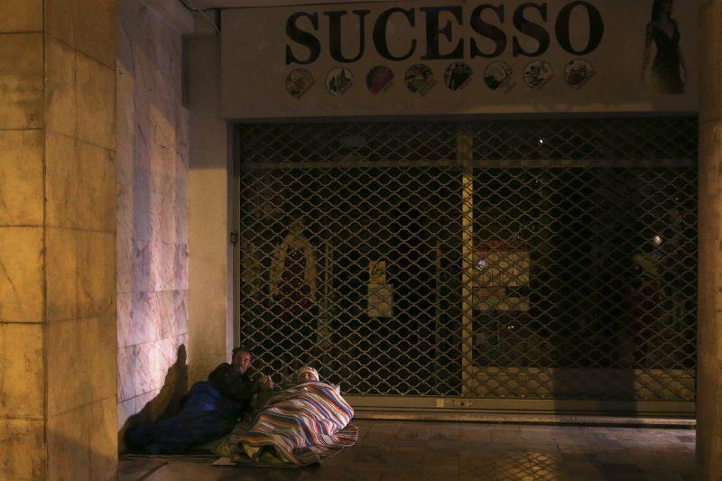 Câmara de Coimbra reforça contactos de rua com sem-abrigo devido ao frio