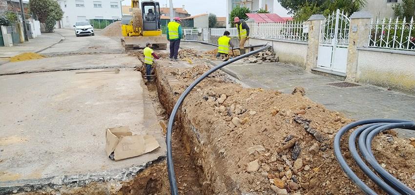 ANADIA: Requalificação das Ruas dos Olivais e de Trás já se iniciou