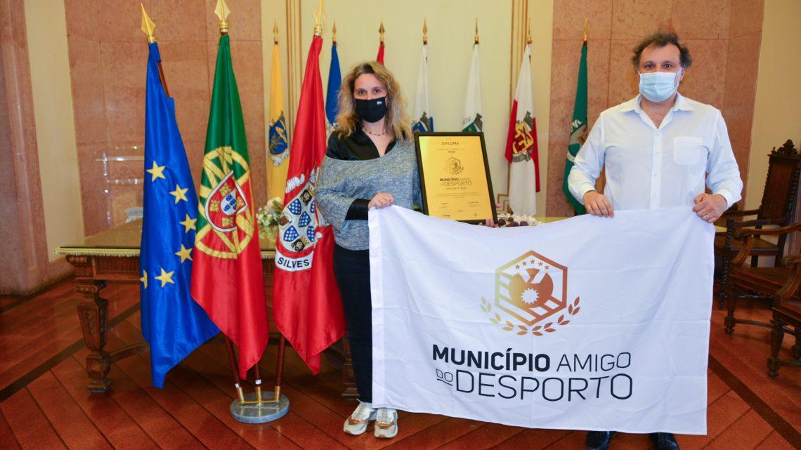 "Pelo 3.º ano consecutivo: CÂMARA MUNICIPAL DE SILVES VOLTA A SER ""MUNICÍPIO AMIGO DO DESPORTO"""