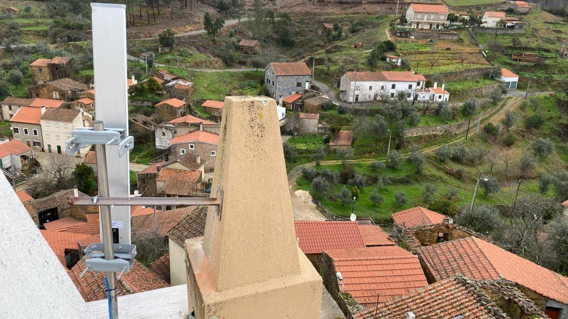 Proença-a-Nova   Solução Wi-Fi adotada em Cunqueiros pode ser replicada noutras localidades