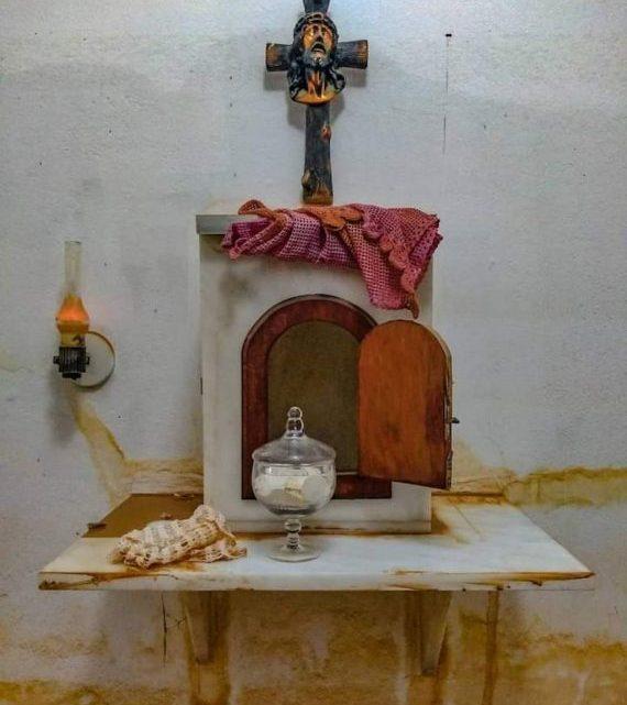 Enchente cobre o sacrário, mas hóstias ficam secas e intactas em Minas Gerais