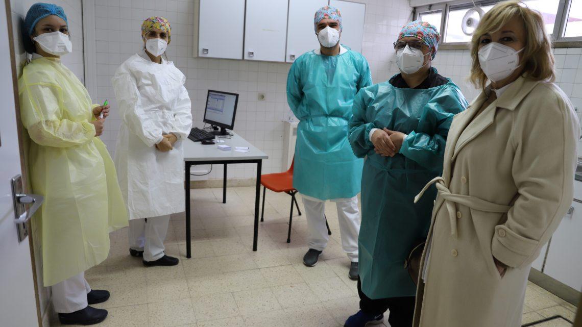 Vacinação Covid-19 para população iniciada na Marinha Grande