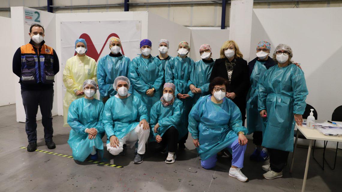 Centros de vacinação Covid-19 na Marinha e Vieira em funcionamento