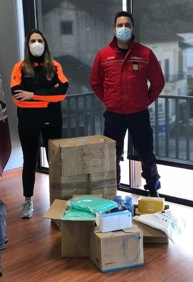 Ansião   Município entrega equipamentos de proteção a Bombeiros