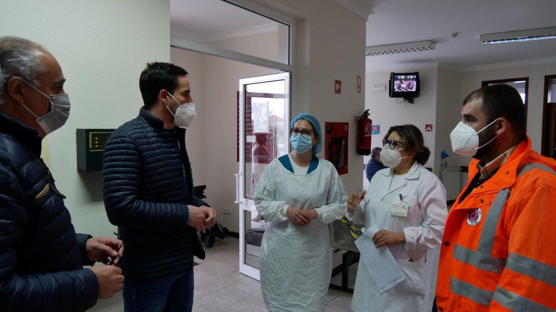 Águeda | Vacinação da população do Concelho de Águeda contra a COVID-19 iniciou hoje