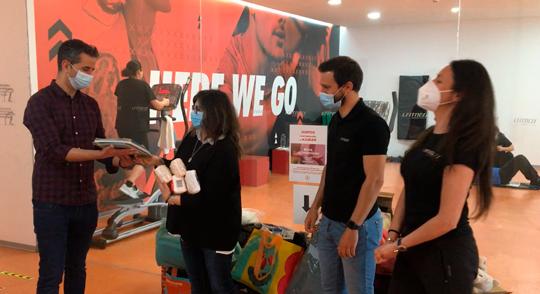 Cantanhede | Sociedade Columbófila recebeu do l fitness health club restantes bens da campanha de natal