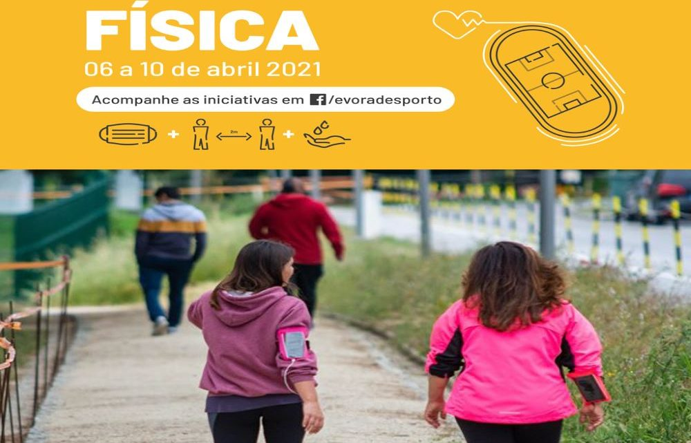 Évora | Câmara celebra Dia Internacional da Atividade Desportiva com programação variada