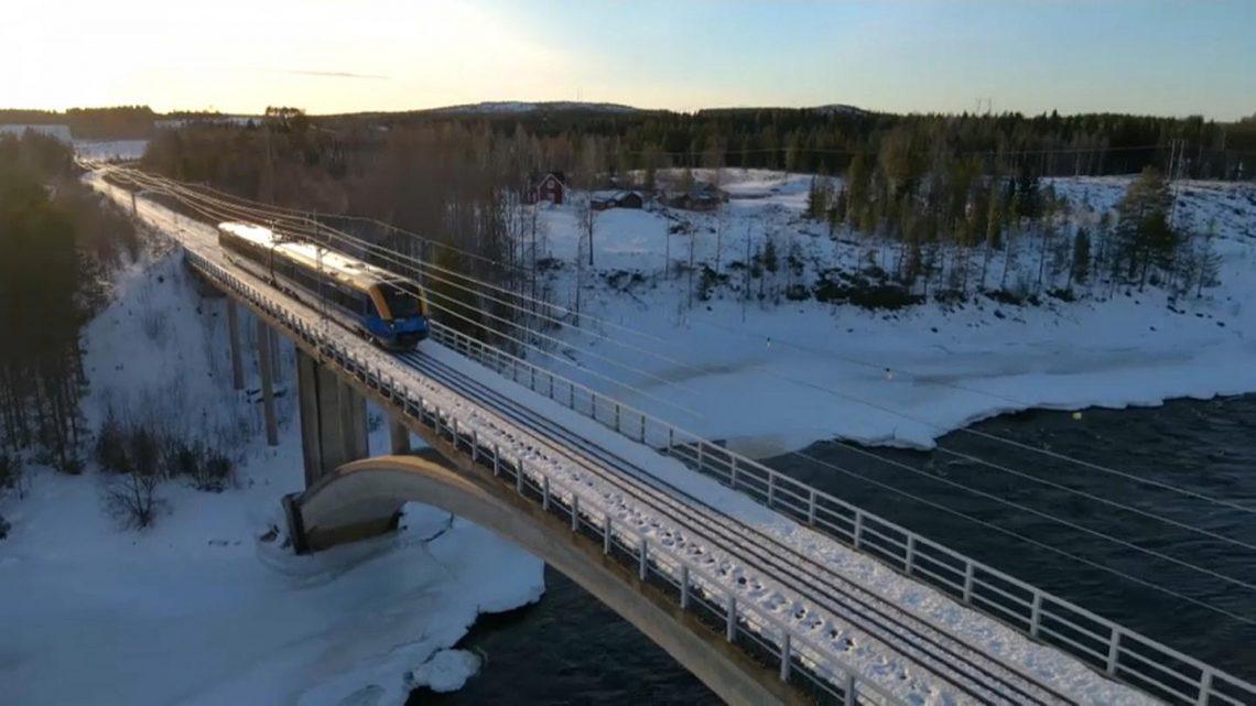 Suécia e Finlândia mais próximas de uma ligação ferroviária