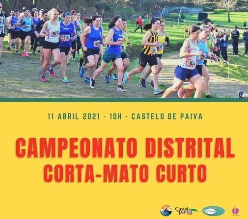 No próximo Domingo, na Quinta de de S. Pedro: Campeonato distrital de corta mato curto volta a disputar-se em Castelo de Paiva