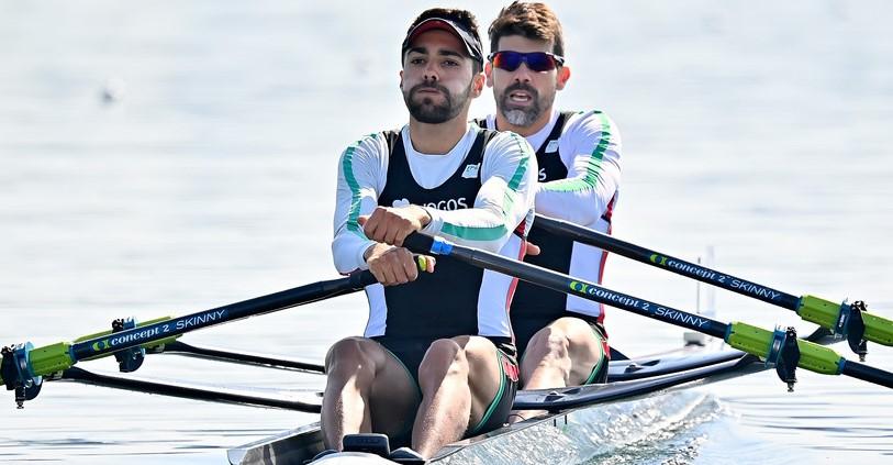 Remadores Pedro Fraga e Afonso Costa apuram-se em 'double scull' ligeiro