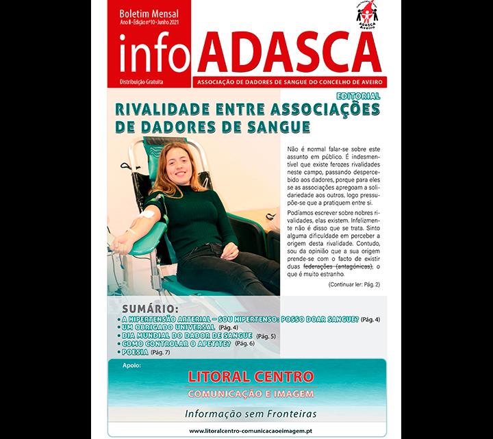 Boletim InfoADASCA, Edição nº. 10, Junho de 2021
