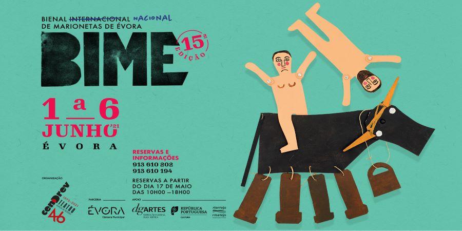 1 A 6 de junho: Teatro Garcia de Resende reabre ao público com a Bienal de Marionetas de Évora