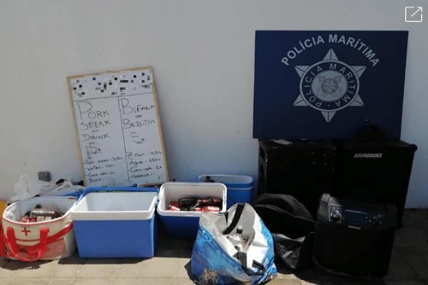 Mais de 200 pessoas participavam em festa ilegal no Algarve