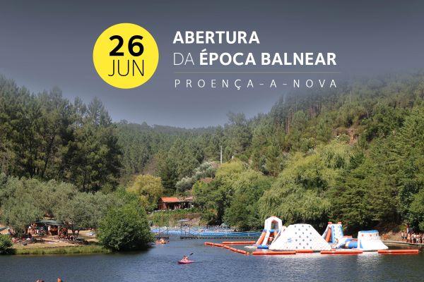Proença-a-Nova | Época balnear começa a 26 de junho nas praias fluviais do concelho