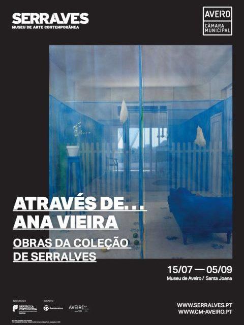 """Aveiro recebe Exposição """"Através de… Ana Vieira"""" – Obras da Coleção de Serralves"""