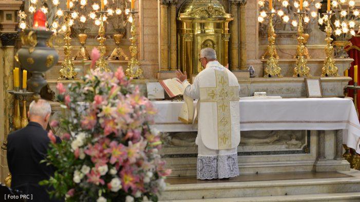 A Igreja crê o que ela reza e reza o que ela crê