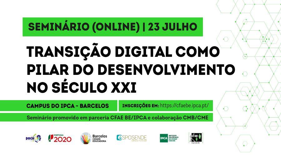 Barcelos | Seminário sobre a Transição Digital assinala arranque de formação