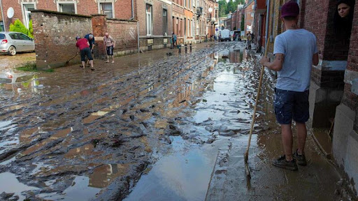 Estudo diz que aquecimento global agravou inundações na Alemanha e Bélgica