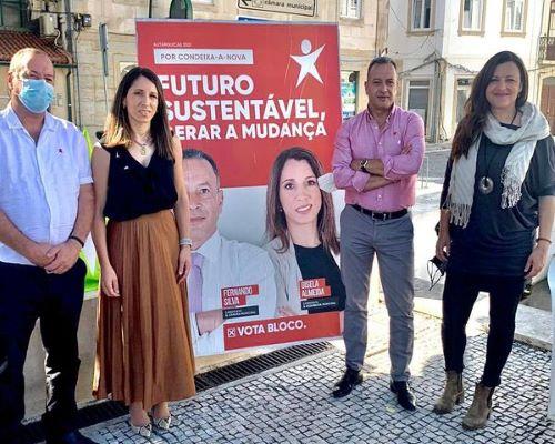 Marisa Matias em Condeixa
