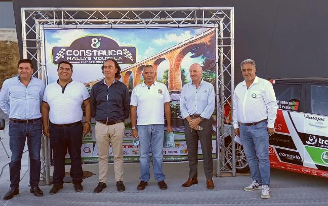 Constálica Rallye Vouzela vai para as estradas do Centro de Portugal nos dias 11 e 12 de Setembro