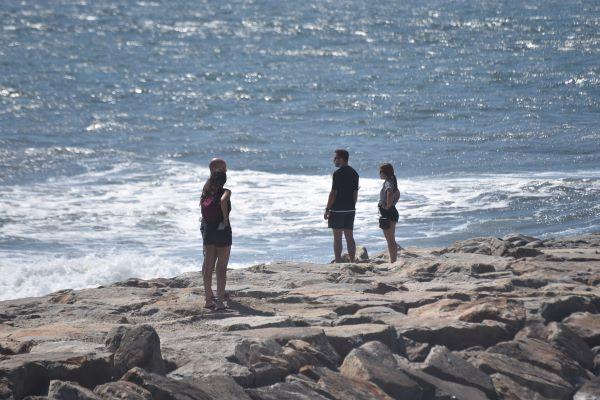 Homem em estado grave após ser resgatado na Costa Nova