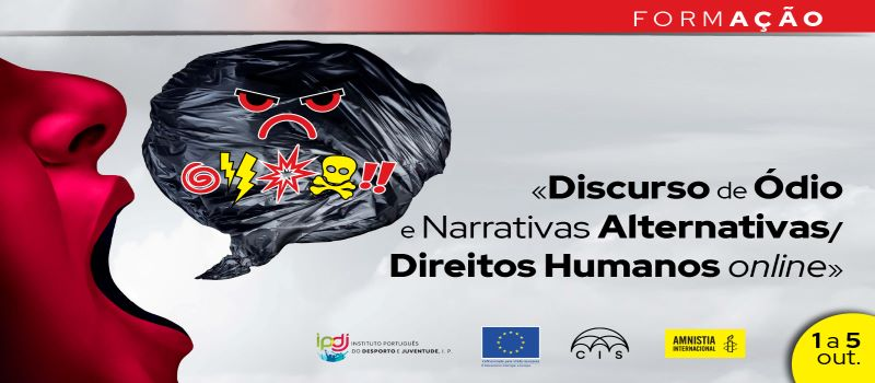 IPDJ: Formação «Discurso de Ódio e Narrativas Alternativas / Direitos Humanos online»
