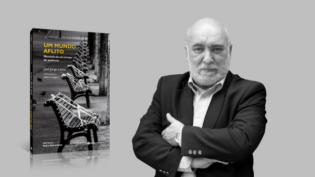 José Jorge Letria vence a 1.ª edição do Prémio Crónica Jornalística Rogério Rodrigues com o livro Um Mundo Aflito