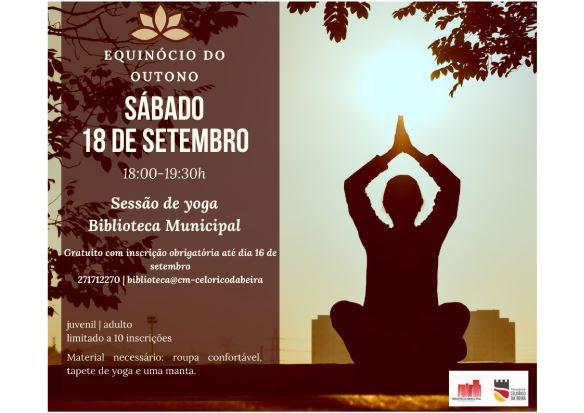 Celorico da Beira | Teatro Musical, Sessão de Yoga