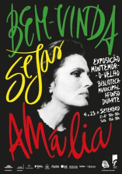 """Montemor-o-Velho celebra o centenário de Amália Rodrigues com a exposição """"Bem-Vinda Sejas, Amália"""""""
