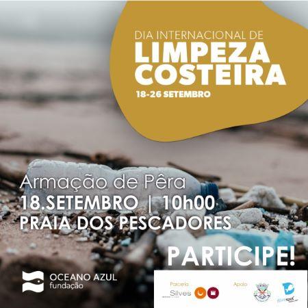 Dia 18 de setembro: SILVES ASSOCIA-SE ÀS COMEMORAÇÕES DO DIA INTERNACIONAL DA LIMPEZA COSTEIRA