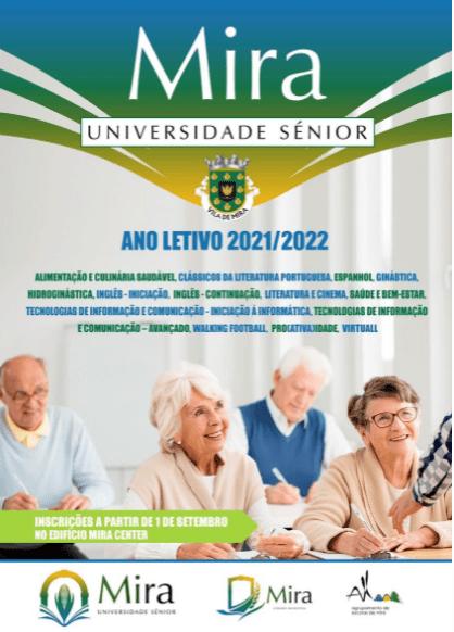 Inscrições na Universidade Sénior de Mira estão abertas: Para uma vida sénior (mais) saudável…