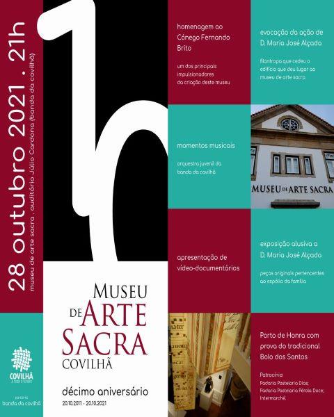 Covilhã   MUSEU DE ARTE SACRA COMEMORA 10º ANIVERSÁRIO