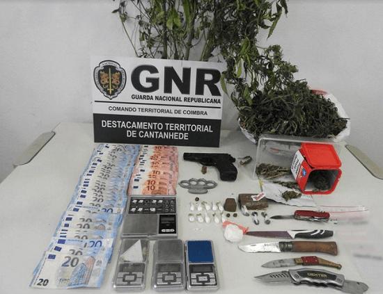 Coimbra | Sete homens detidos por tráfico