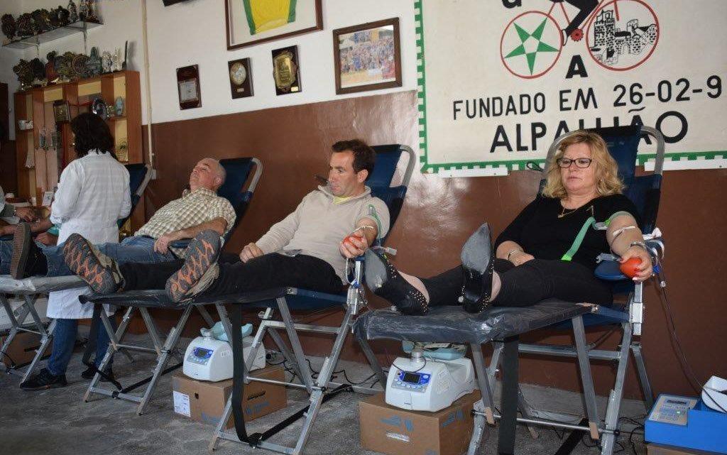 Alpalhão | 33 dadores de sangue na freguesia de António Joaquim Eustáquio